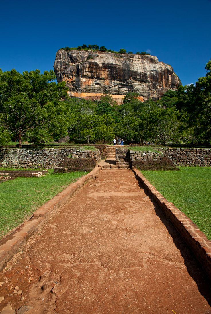 Srílanka - Lví skála