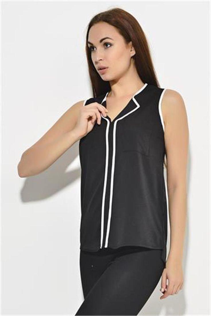 Siyas Beyaz V Yaka Bluz | Modelleri ve Uygun Fiyat Avantajıyla | Modabenle