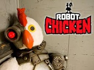 Free Streaming Video Robot Chicken Season 6 Episode 19 (Full Video) Robot Chicken Season 6 Episode 19 - Chocked On A Bottle Cap  Summary: Humping Robot attacks the U.S. Navy; an intervention for M.A.D. Cat; The Thundercats learn about estrus; the Animaniacs go off their medications.