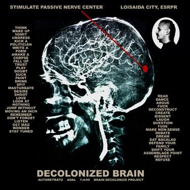 """Le Decolonized Brain,"" Adal Maldonado"