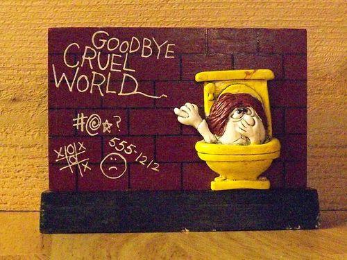 Goodbye Cruel World: Pin By Jessica Lindsey On Potty Humor (and Bathroom Decor