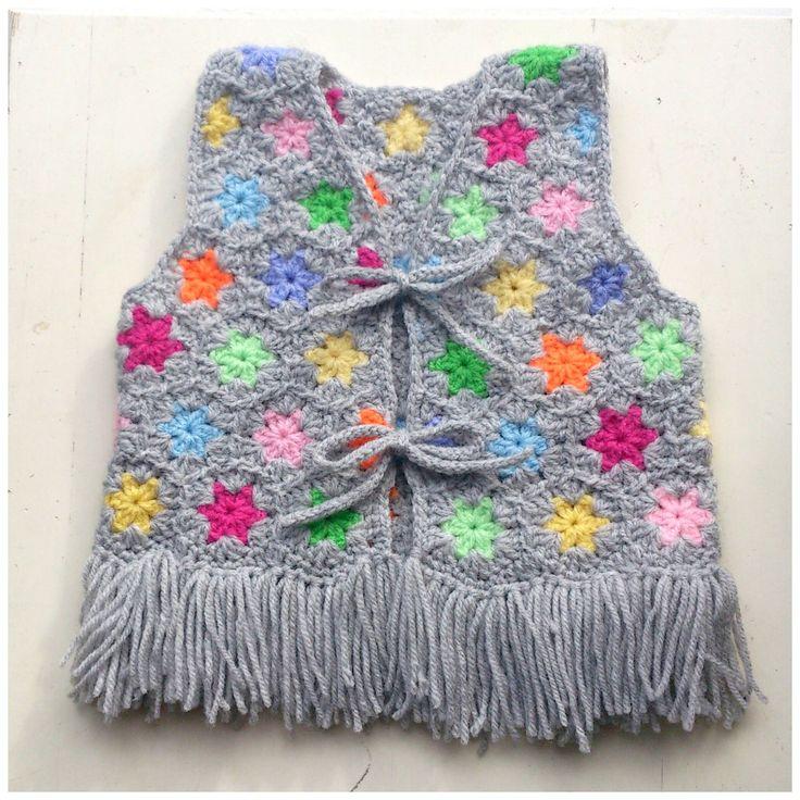 crochet baby vest https://www.facebook.com/pages/Attys/285033854868633?ref=hl
