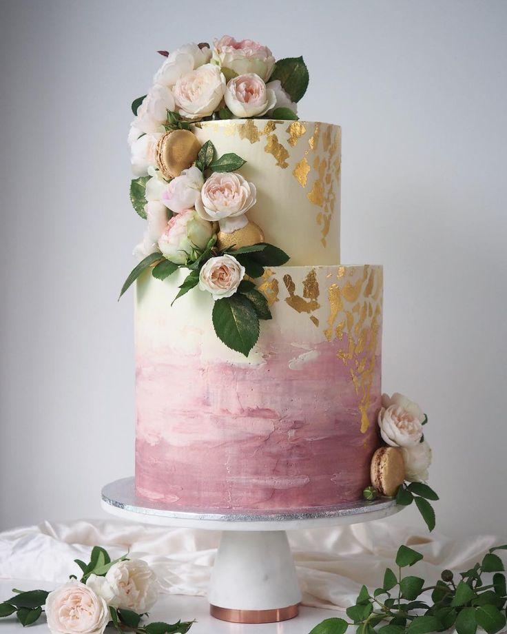 Top 13 Hochzeitstorten-Trends für 2018   – Wedding cake rustic