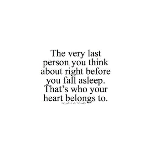 My heart belongs to him <3