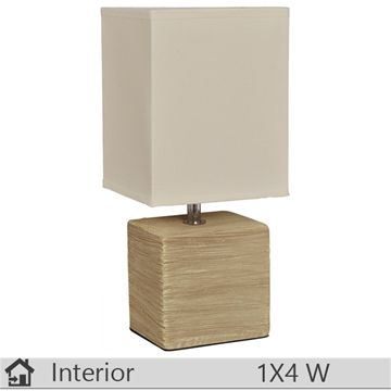 Veioza iluminat decorativ interior Klausen, gama Miller, model BEJ