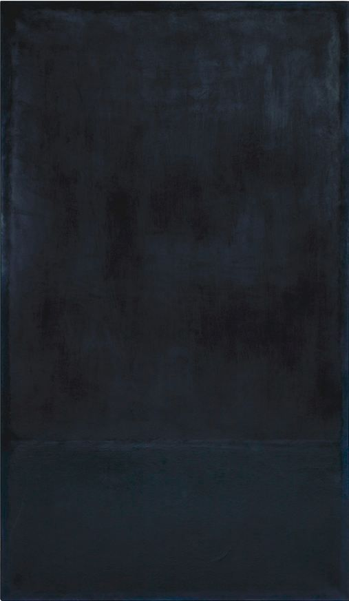 conversationswiththelight:  Mark Rothko, oil on paper laid on canvas, 1969  177.8x102.9cm (70x40 in)