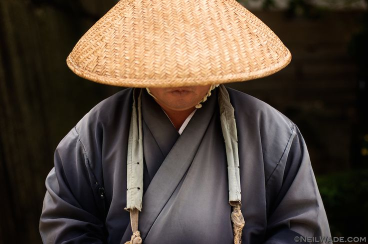 In Japan Buddhist Monks traditionally wear black robes