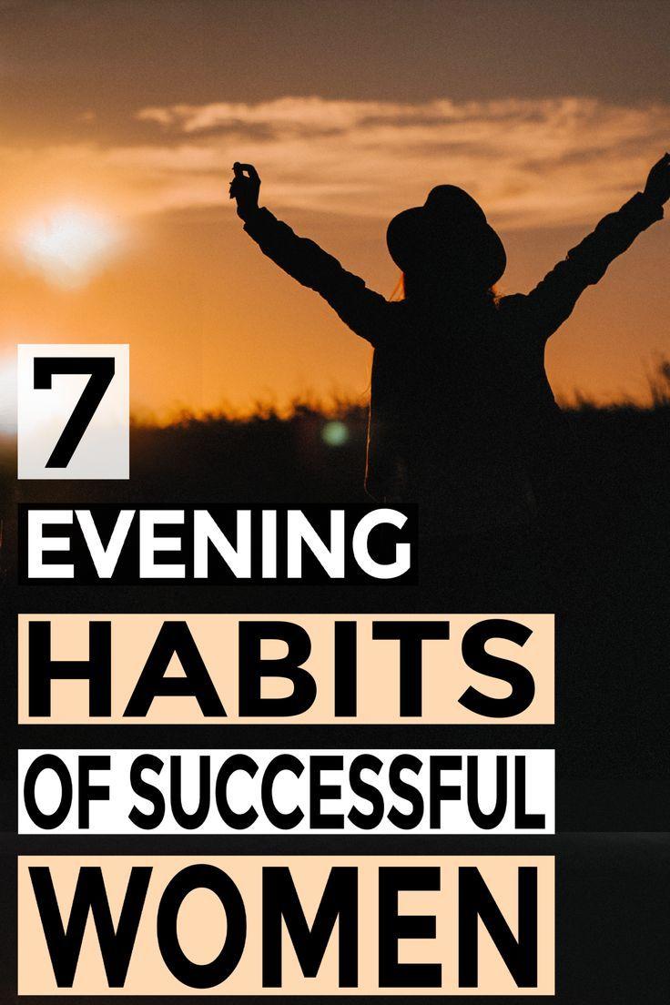 7 Habits Rich Women Do In The Evening Best Money Saving Tips