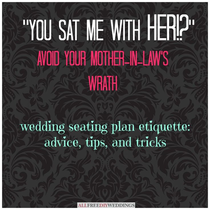 How to Make a Wedding Seating Chart: Ideas and Etiquette from @AllFreeDIYWeddings