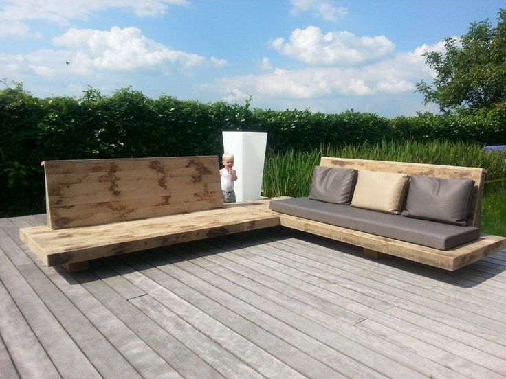 loungebank tuin - Google Search