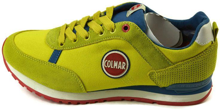 Scarpe Colmar Originals TRAVIS COLORS109 YELLOW-ROYALE