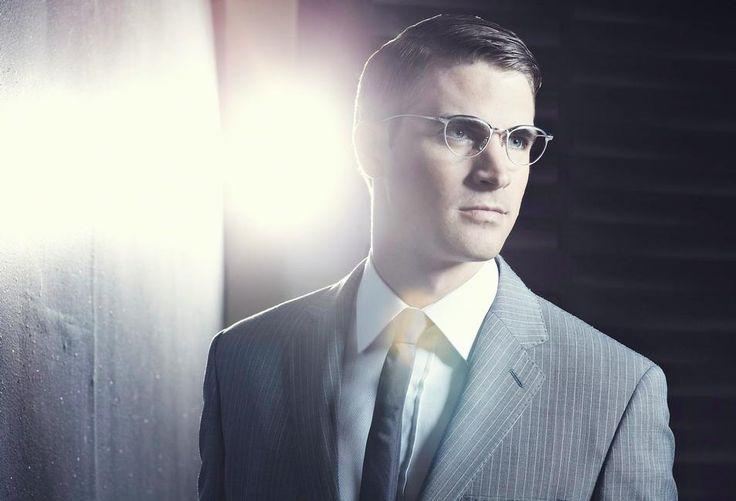 David Entinghe (2012) #DavidEntinghe #malemodel #model #Belk #FordModels #FordModels_Chi #Wilhelmina #glasses #specs #suit #tie