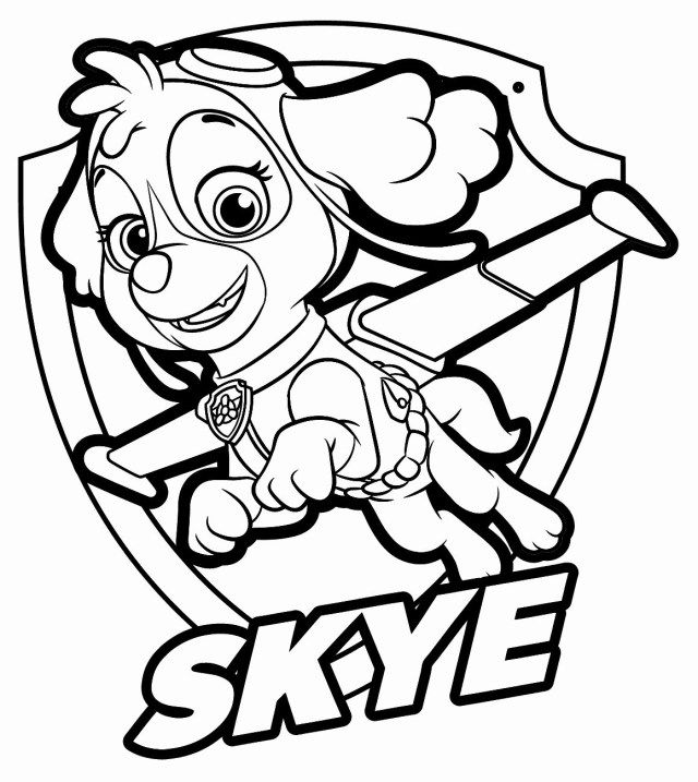 30 Amazing Photo Of Paw Patrol Coloring Pages Albanysinsanity Com Paw Patrol Coloring Pages Paw Patrol Coloring Skye Paw Patrol