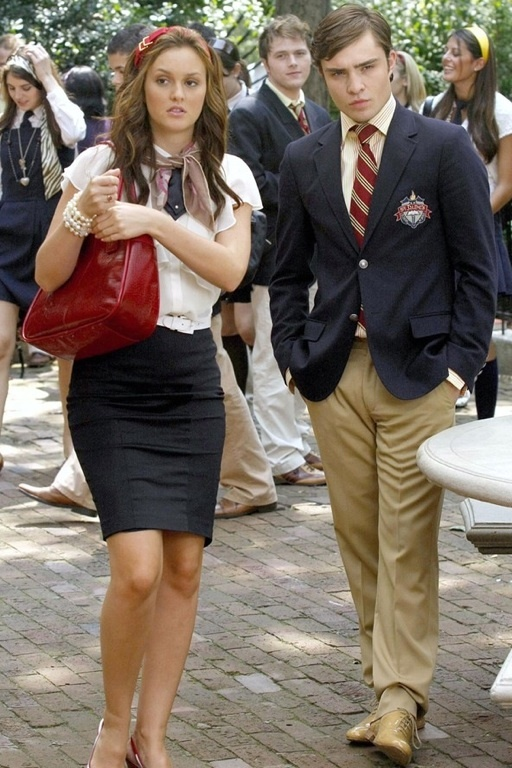 Gossip girl uniforms... I would gladly wear these.