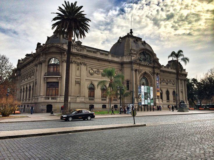 Museo de Bellas Artes en Santiago de Chile #BellasArtes #Santiago #Chile