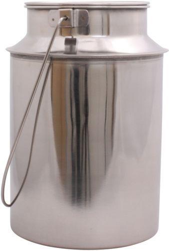 Milchkanne-Transportkanne-Milchkrug-Kanne-Krug-6-Liter-Edelstahl-Wurstsuppe
