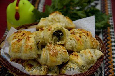 Cornulete cu masline si ciuperci   Arome din bucatarie