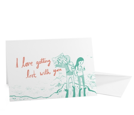 Lost Lovers Cards: Lost, Illustration, Lovers Cards Repin, Ohh Deer, 3Er S Card, Greeting Card, Invites Cards, Cards Repin By Pinterest, Card Inspiration