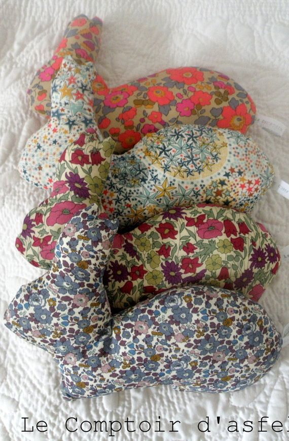 doudou lapin liberty betsy fluo the