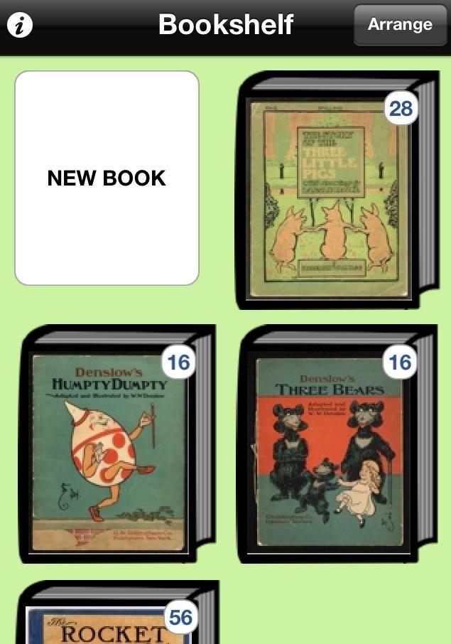 #svapplista Skapa enkla böcker med bild, text och ljud. Enkel!