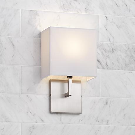Bathroom Sconces With Fabric Shades best 25+ wall sconces ideas on pinterest | diy house decor, house