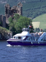 Boat tours of Loch Ness, Inverness, Scotland - not too expensive either!