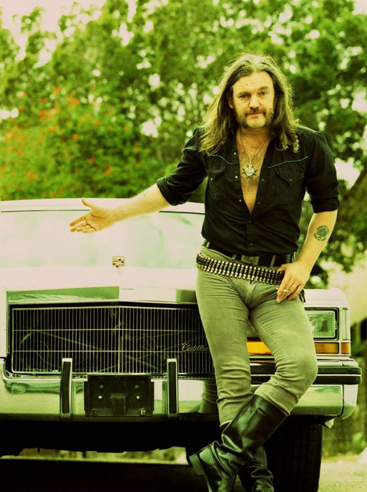 10 Rarest Rock and Roll Photographs - Lemmy Kilmister, 1994 Los Angeles by Stephen Stickler