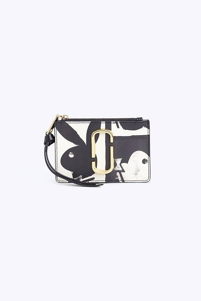 Playboy Ladies wallet//purse in black//white.
