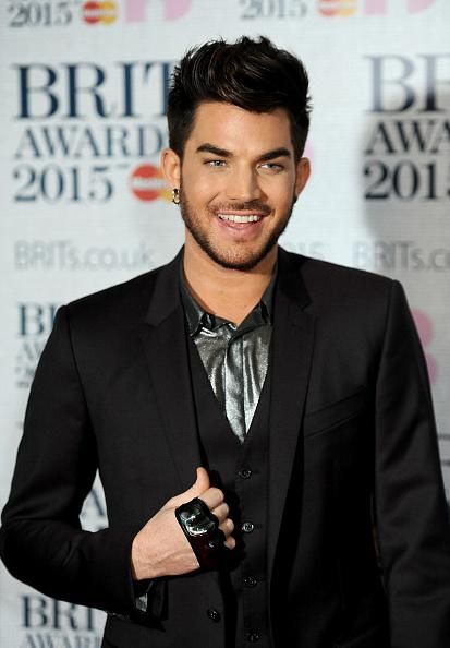 16: @adamlambert at The BRIT Awards 2015.