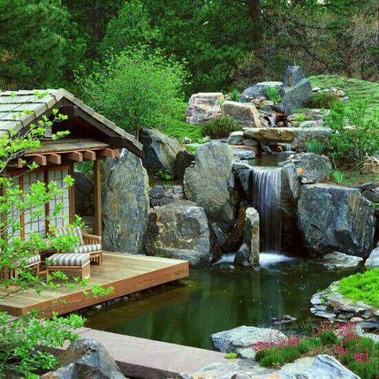 9 besten Wasserfälle Bilder auf Pinterest Gärten, Schattierungen - wasserfall garten wand