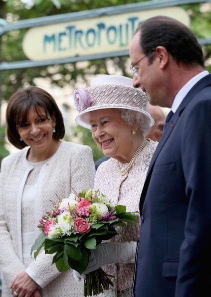 Queen Elizabeth II Photos: Queen Elizabeth II On Official Visit In Paris : Day…
