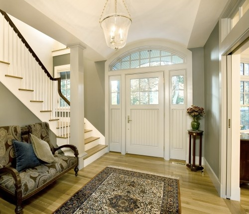 love this entryway...: The Doors, Idea, Dreams Houses, Stairs, Doors Design, Architecture Interiors, Entry Hall, Front Doors Entry, Pockets Doors