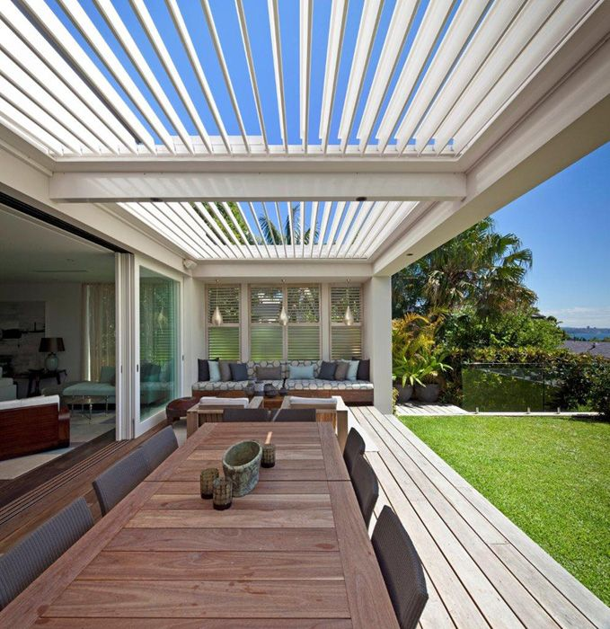 Installation of 180 Linear Opening Louvre Roof | Vaucluse Residence 5 - Horizon Habitats