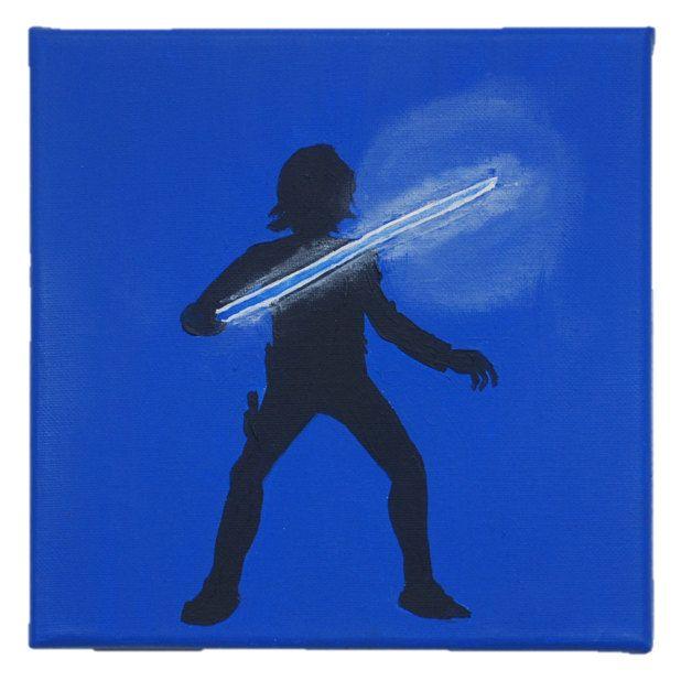 Star Wars Luke Skywalker Silhouette by BoutiqueAustralia on Etsy