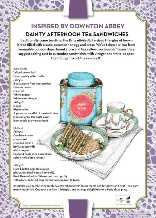 Afternoon Tea – Downton Abbey-style | Madison