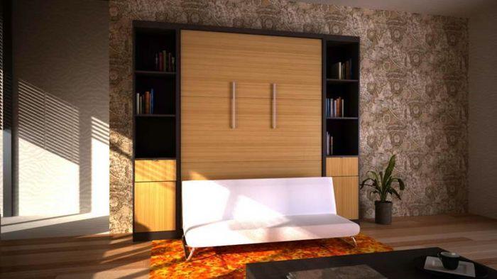 lit gigogne ikea, lit pliant moderne, chambre à coucher avec un design élégant