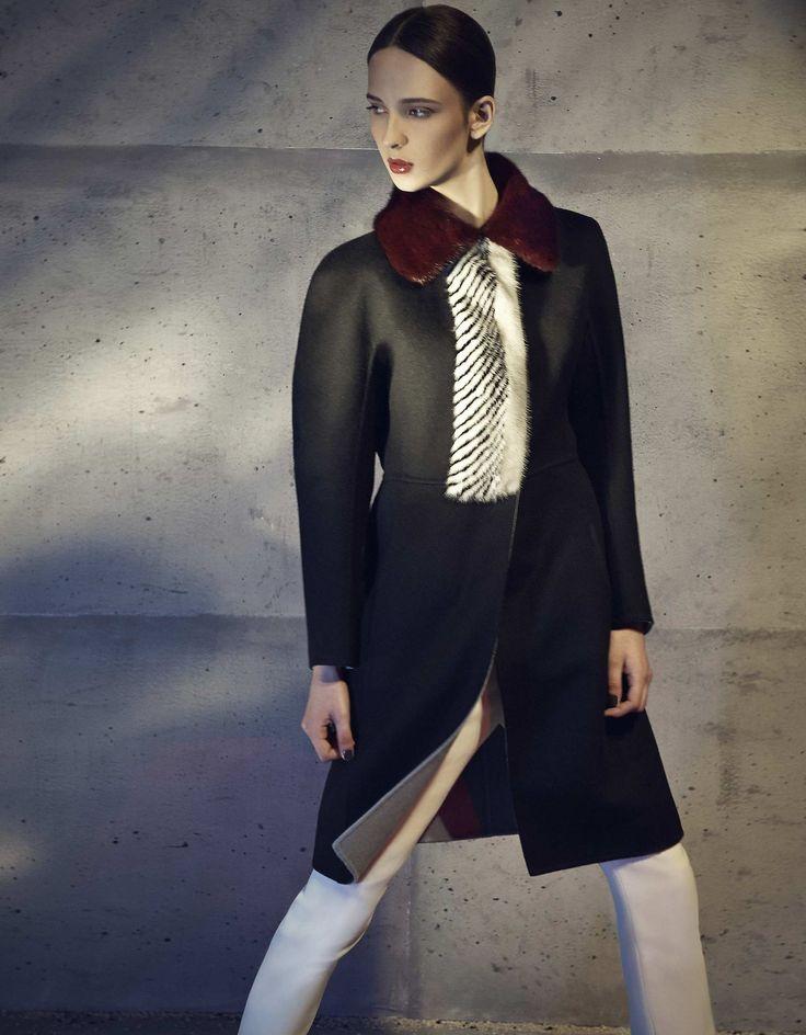 A Fendi Fall/Winter 2014-15 total look