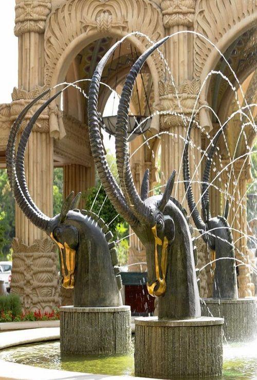 Beautiful fountain at Sun City