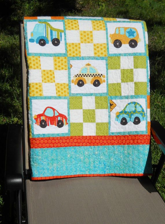 17 Best Images About Quilts Boys On Pinterest Cars