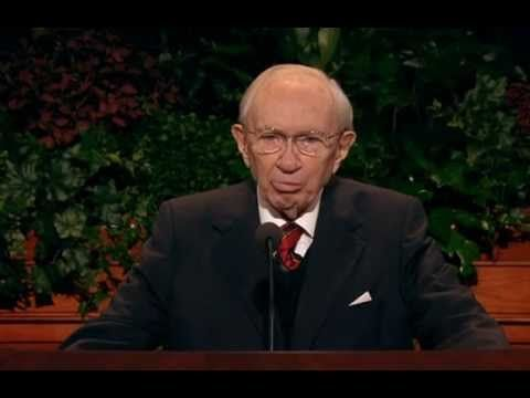 Slow to Anger - Gordon B. Hinckley - October 2007 General Conference