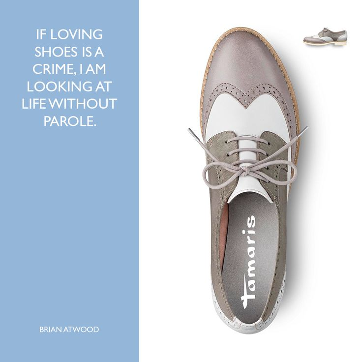 Guilty. And what about you? ;) Art.-Nr.: 23200 #shoe #quote #brogue #2016