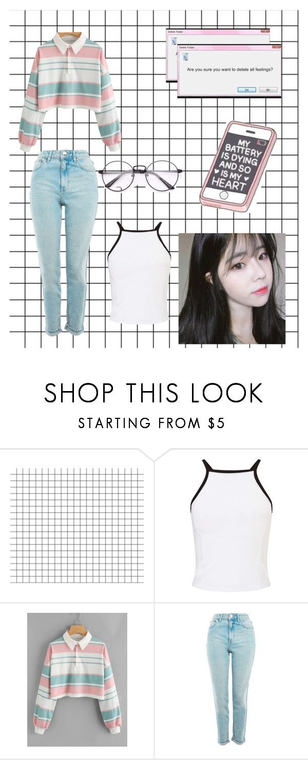 """""""Chung-Ae"""" by moonmokus on Polyvore featuring Miss Selfridge and Topshop"""