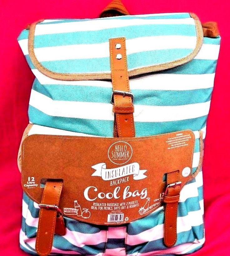 FAMILY COOL BAG RUCK SACK DAYS OUT PICNICS BEACH PARK HOLIDAY FESTIVAL HOLIDAYS