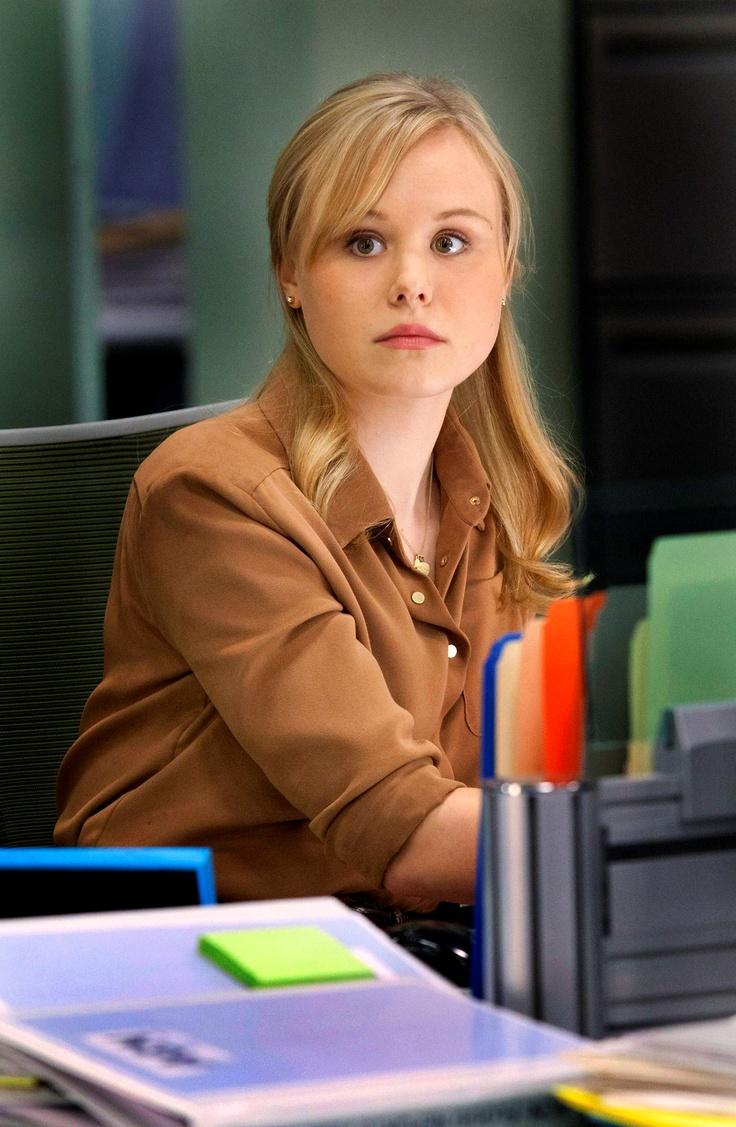 Alison Pill Plays Maggie Jordan in The Newsroom TV Show