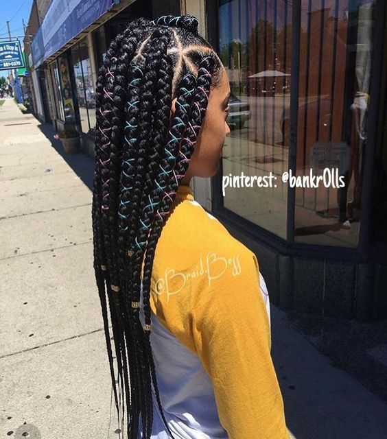 Jewelry for Braids, Natural Hair, Hair Style, Long Hair, Hair Inspiration, Black Girl, Make up