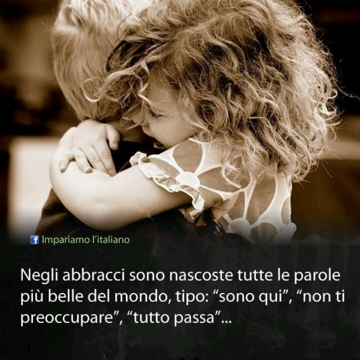 Abbracci :)---UN FORTISSIMO, DOLCISSIMO ABBRACCIO, AMORE MIO!!! TI AMO SEMPRE, NULLA E' CAMBIATO!!! SEI SEMPRE NEL MIO CUORE!!!