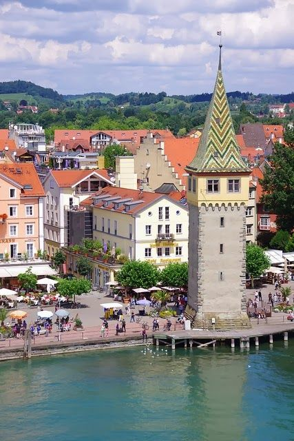 #Lindau #Bavaria It is situated on the shores of Lake Konstanz (#Bodensee)