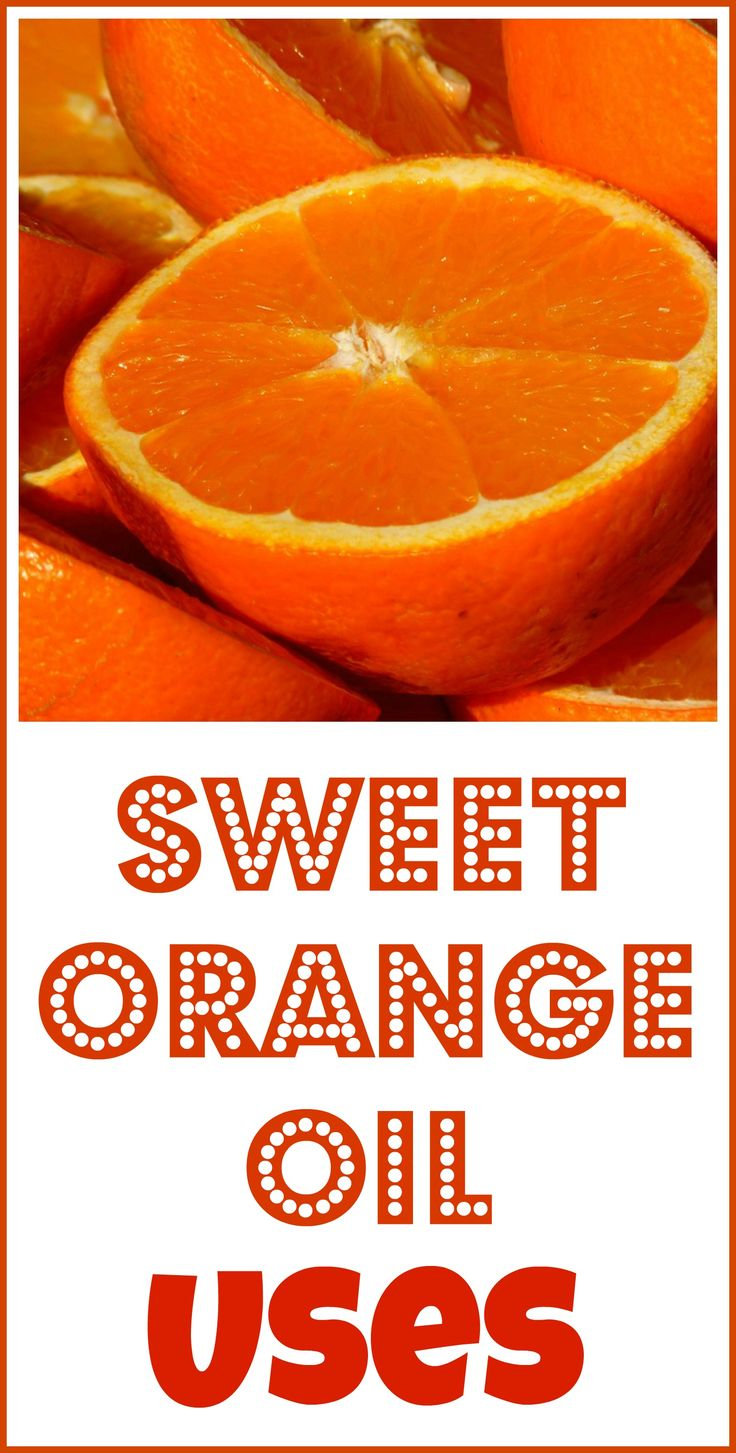 How to use sweet orange essential oil.