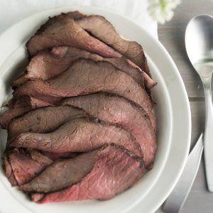 Marinoitu paahtopaisti - Marinated roast beef