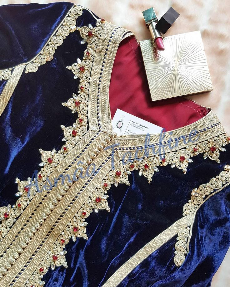 @Regrann from @asmaa1tachfine - Caftan By Asmâa Tachfine SNAP : assmaa.tachfine FB : Asmâa Tachfine - Haute Couture #caftan #morocco #artisanat #Swarovski #weddingdress #wedding #girls #blue #gold #velvet #artisanat #moroccan #fashion #engagement #designer #fashiondesigner #lady #casablanca #snap #قفطان #instafashion #fashionblogger #instagramers #style #hautecouture #red #handmade #blogger #قفطان_مغربي #luxury #maroc